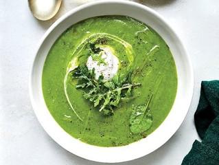 Broccoli & Zucchini Soup