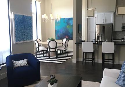 Burlingame living room remodeled