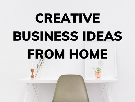 Creative Businesses That You Can Start