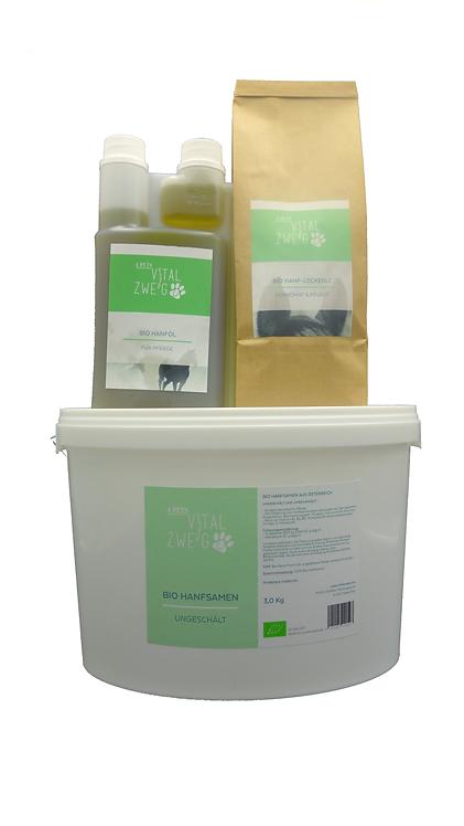Bio Hanfpaket zum Vorteilspreis