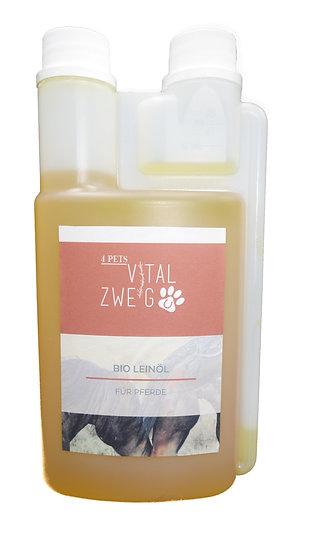 Bio Leinöl für Pferde