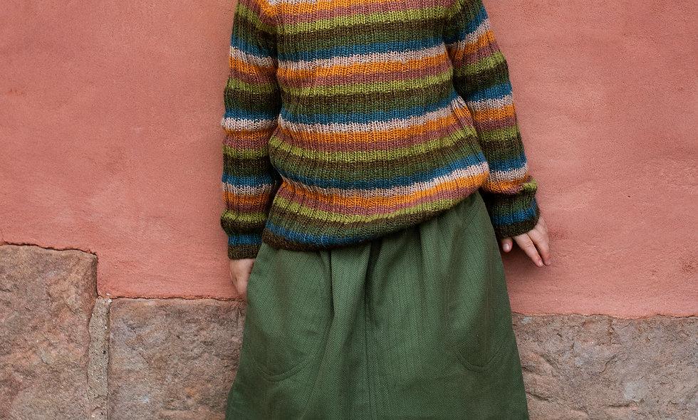 SERENDIPITY Alpaca Rainbow sweater