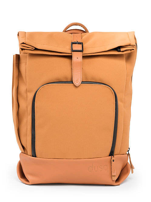 family bag   canvas – sunset cognac