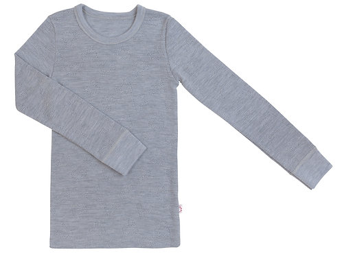 WOOLAMI Long sleeve top Grey