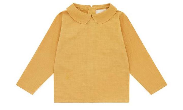 Natural Meyna Laxiflora Plant Dye - long sleeved woven cotton shirt