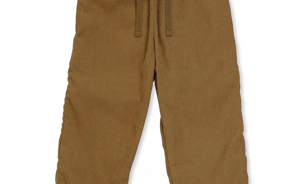 SIMME PANTS-Amber brown.