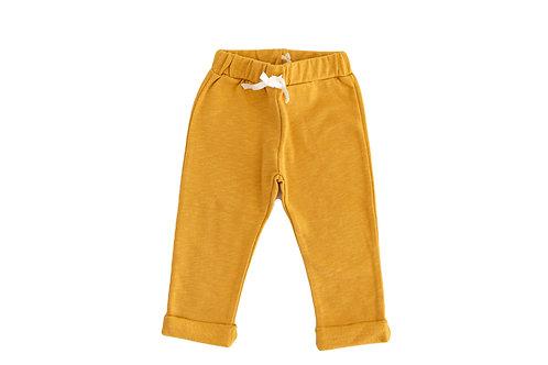 Sweat pants mustard