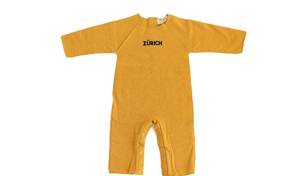 Zürich overall - mustard