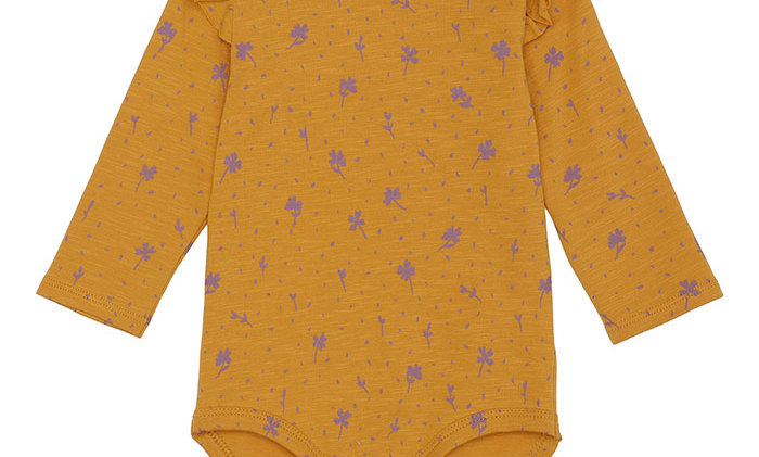 Sunflower Fifi Body with Clove pattern