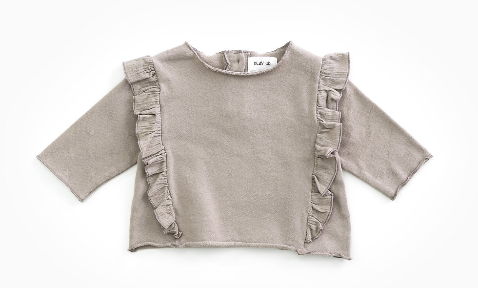 PLAYUP Frill Sweater