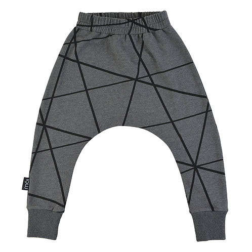 Baggy pants, dark grey