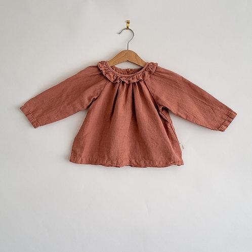 Poudre Organic Linen blouse - 18 months