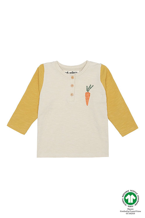 Field Shirt, Grey with carrot