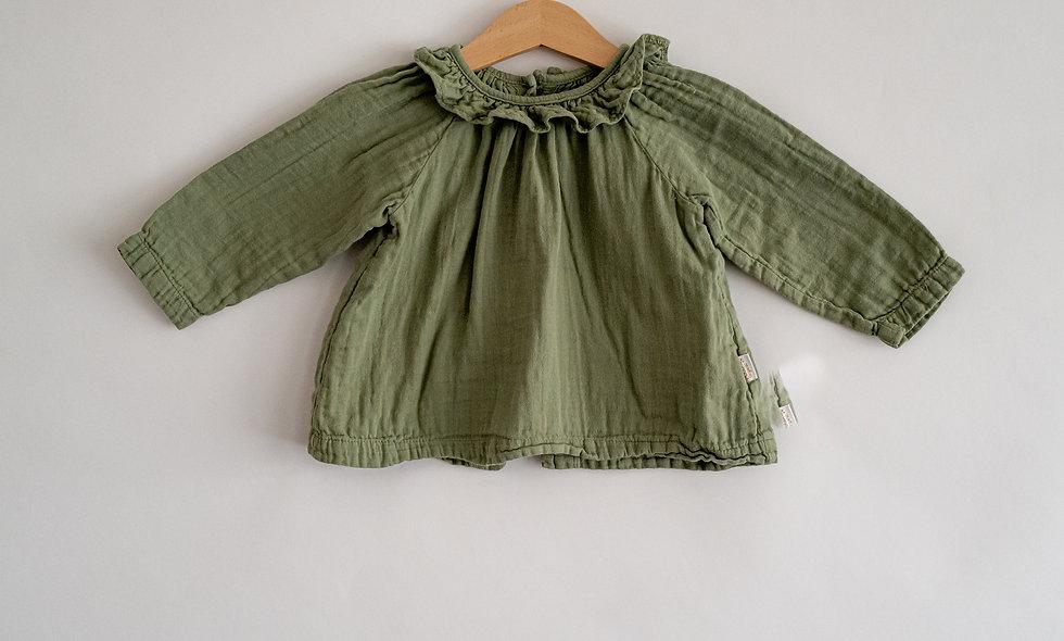 Poudre Organic GAUZE blouse - 12 months