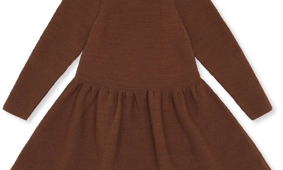 BALLERINA DRESS WOOL KNIT