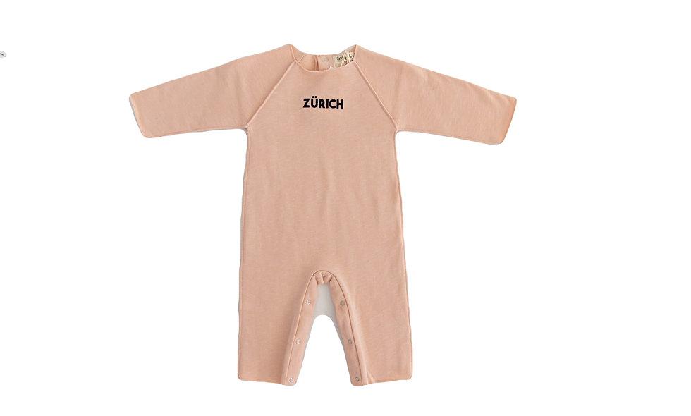 Zürich overall - blush