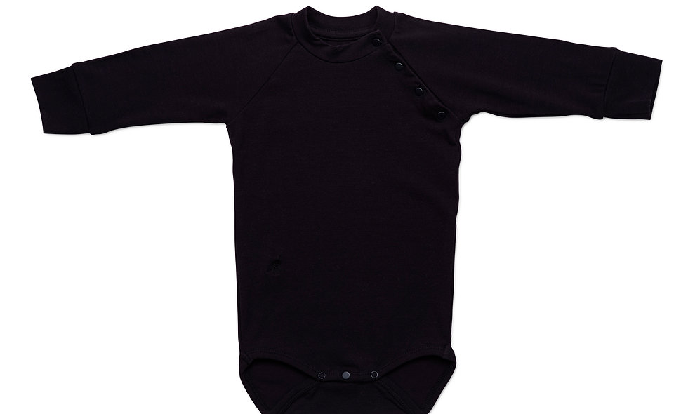 Long sleeve body suit, Black