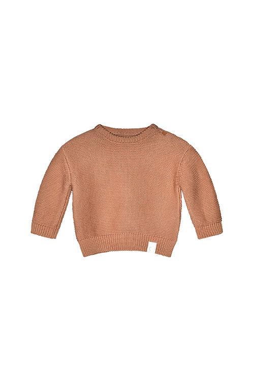 I dig denim Knitted Mist jumper