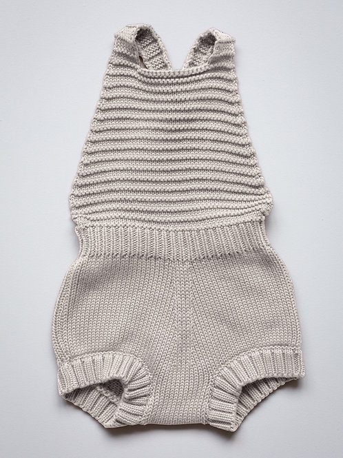 the SIMPLE FOLK knitted romper