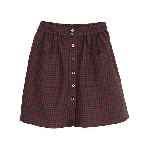 brushed skirt