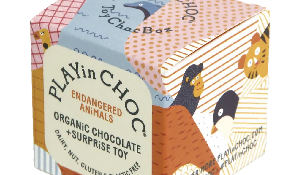 ToyChoc Box ENDANGERED ANiMALS