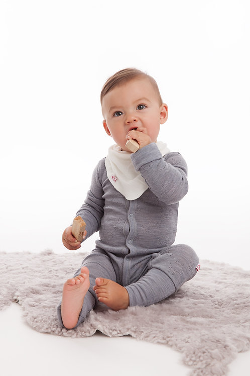 WOOLAMI Baby suit Grey