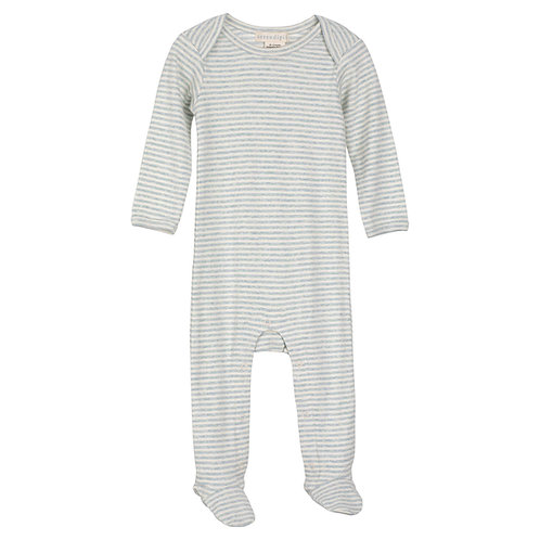 Baby Suit Stripe Cloud/Offwhite
