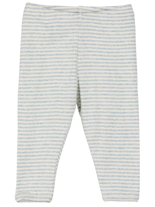 Baby Leggings Stripe Cloud/Offwhite
