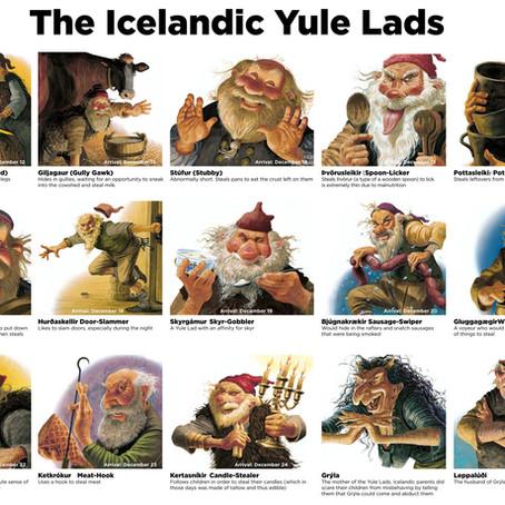 Yulelads - Jólasveinar - Weihnachtsmänner