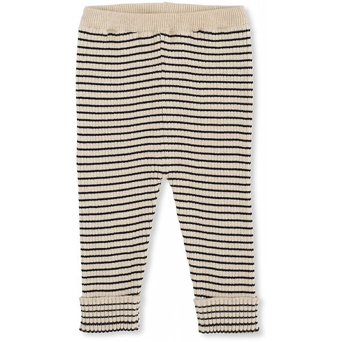 Meo Knit Pants Cotton - Navy Rice