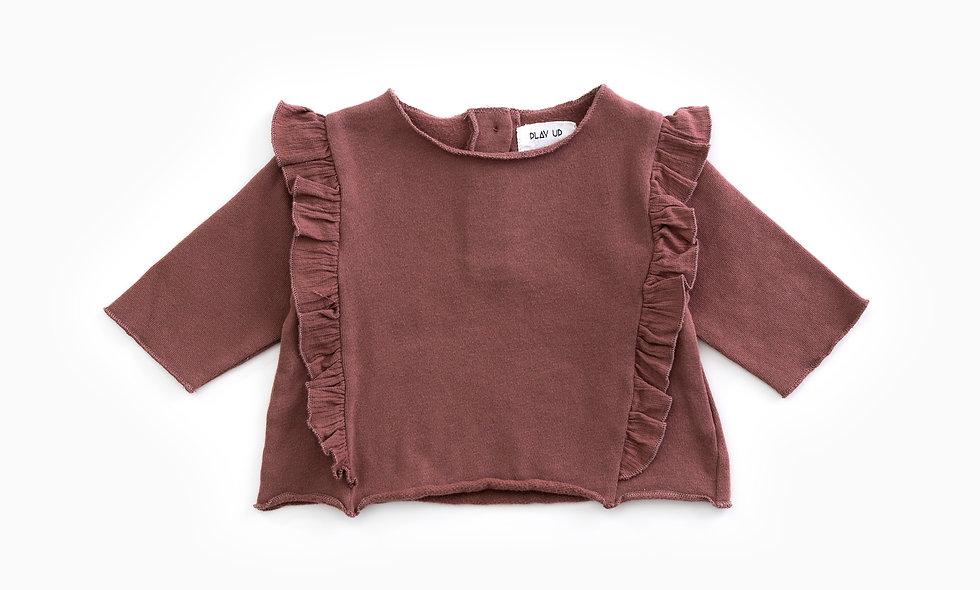 PLAYUP Frill Sweater