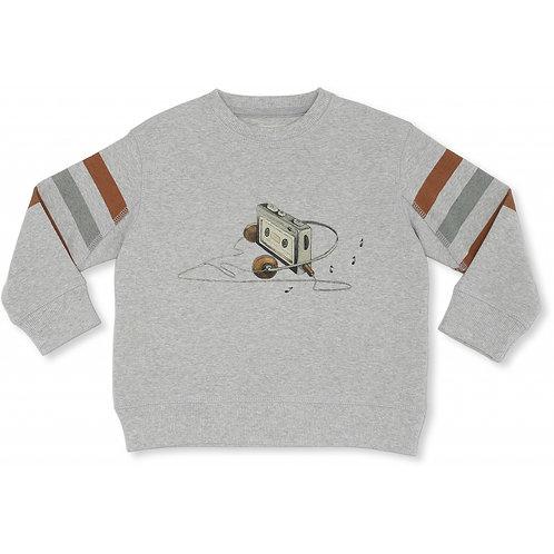 Lou Sweatshirt - Grey melange