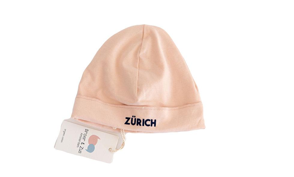 Zürich beanie - blush