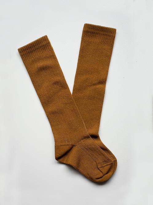 the SIMPLE FOLK ribbed socks