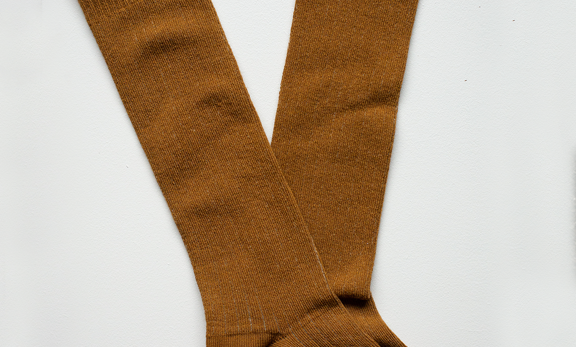 the SIMPLE FOLK ribbed socks