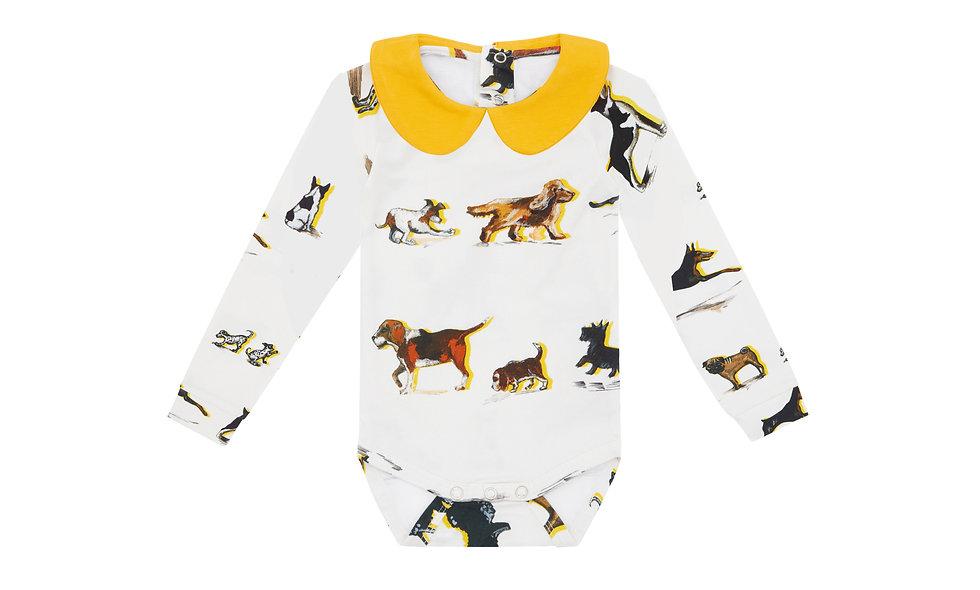 Long sleeve collard body, Dog Family