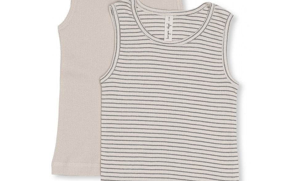 Tank tops - pack of two - boy - blue