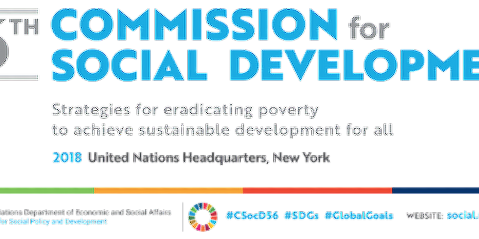 """""""Strategies for eradicating poverty to achieve sustainable development for all"""""""