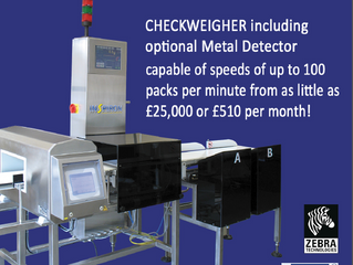 Checkweigher Combination System from just £510 per week!