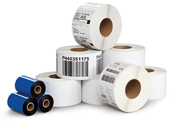 thermal labels, food labels, thermal transfer, ribbons