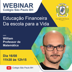 Webinar | Educação Financeira - Da escola para a vida