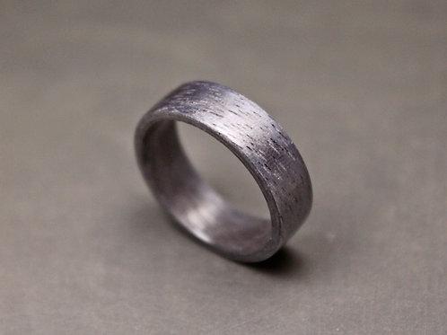 Silver Oak Wood Ring