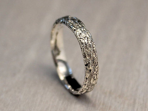 Thin Silver Mountain Ring