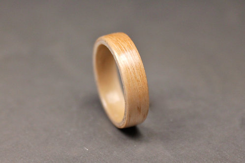 English Ash Wood Ring
