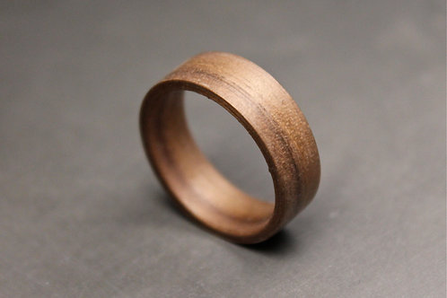American Walnut Wood Ring