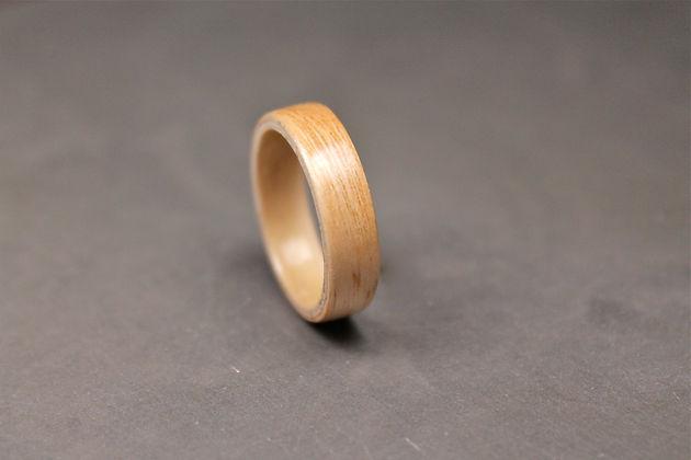 Bespoke wooden wedding bands for men