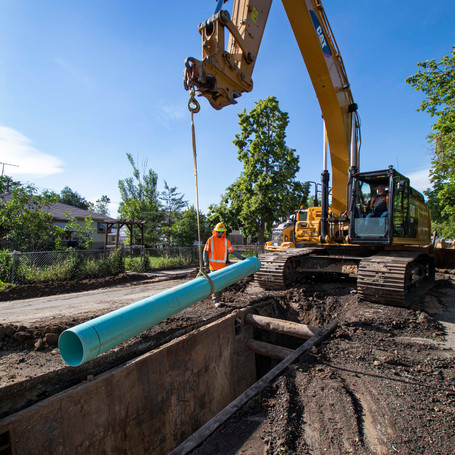 Sewer Improvements for Lima Alley and Paris Alley