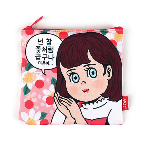 POPGIRL Friends Woman Pouch -  Like Flower