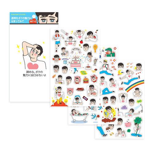 NAMCHINI Stickers SET-C