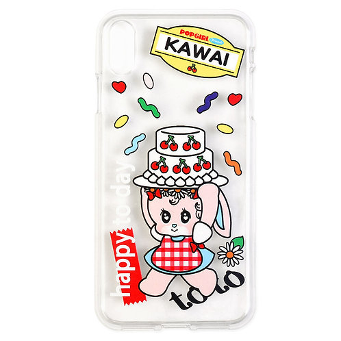 POPGIRL Friends Jelly case -toto